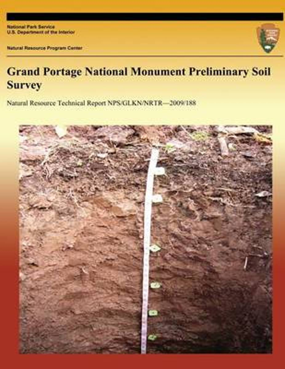 Grand Portage National Monument Preliminary Soil Survey