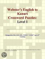 Webster's English to Kanuri Crossword Puzzles