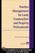 Practice Management for Land, Construction and Property Professionals