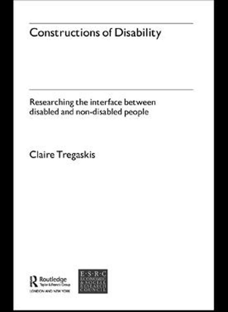 Constructions of Disability