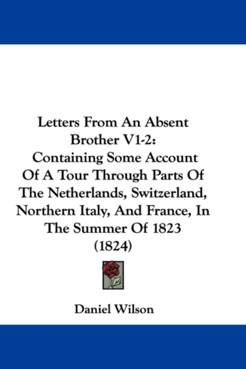 Letters From An Absent Brother V1-2