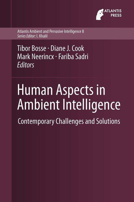 Contemporary challenges and solutions for human aspects in ambient intelligence
