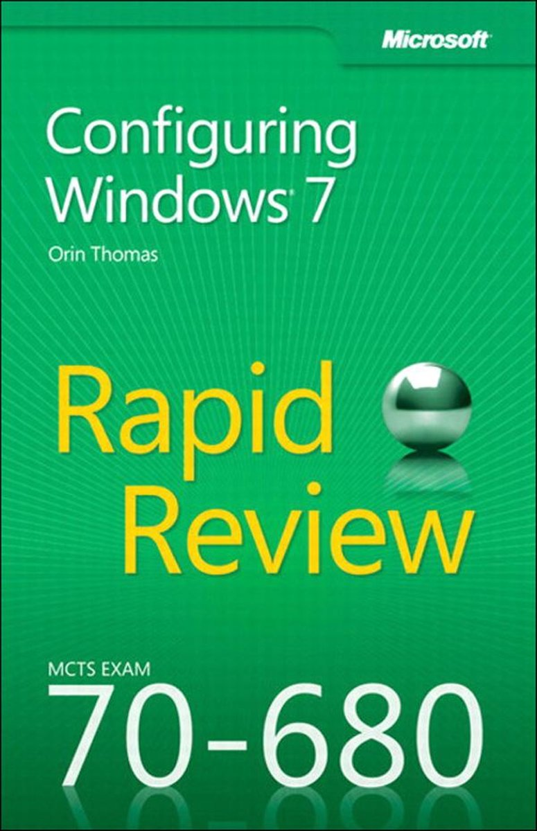 MCTS 70-680 Rapid Review