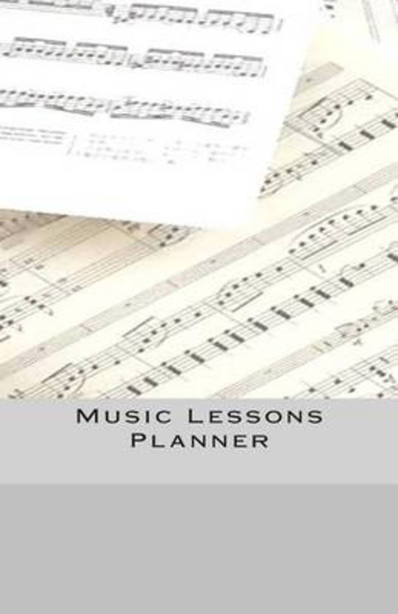 Music Lessons Planner