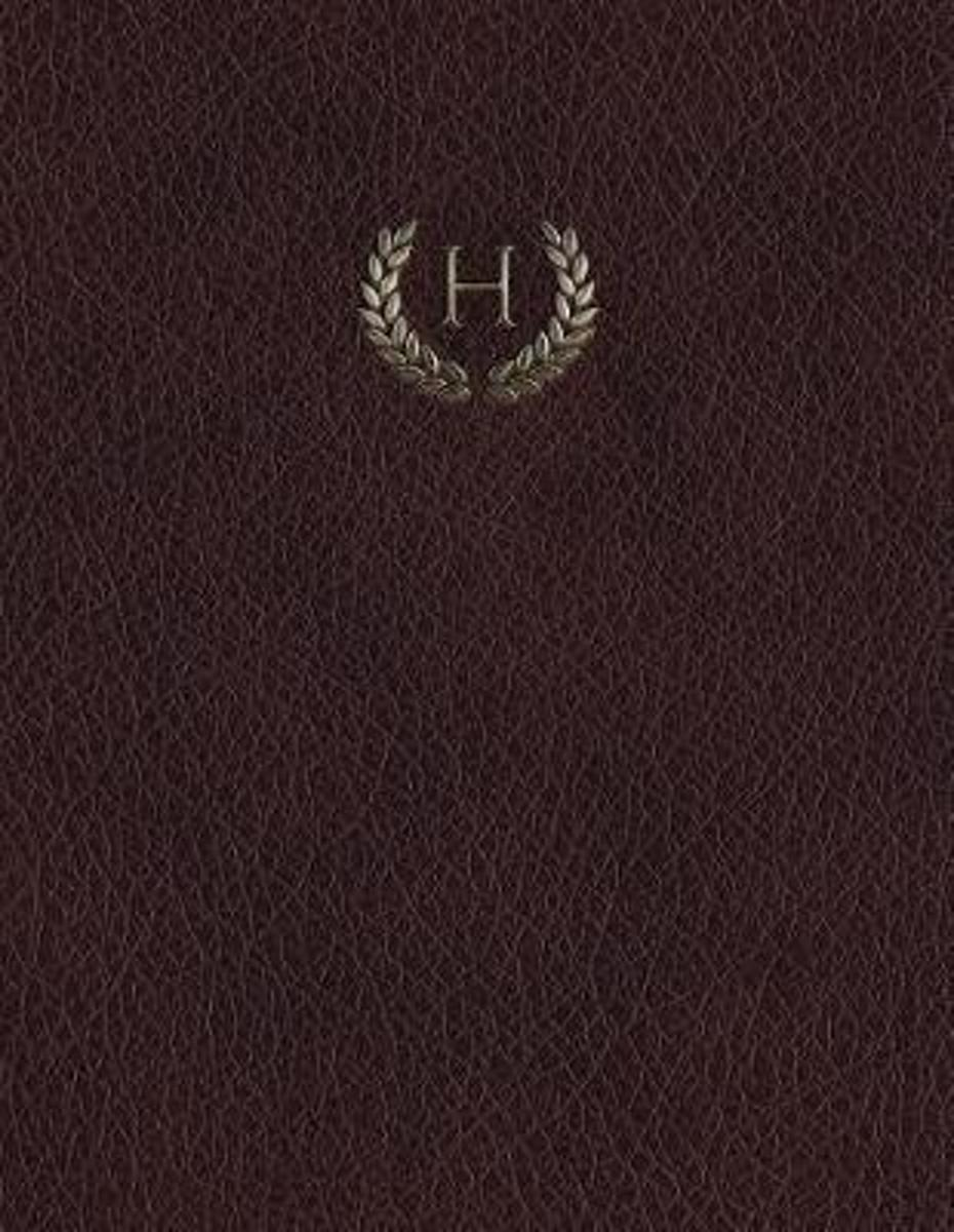 Monogram H Grid Sketchbook