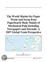 The World Market for Paper Waste and Scrap from Paperboard Made Mainly of Mechanical Pulp Including Newspapers and Journals