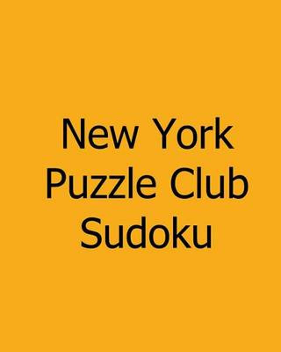 New York Puzzle Club Sudoku
