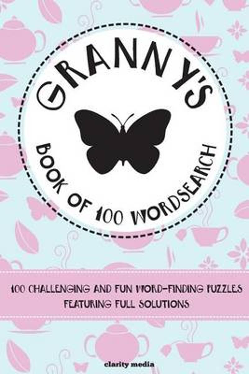 Granny's Book of Wordsearch