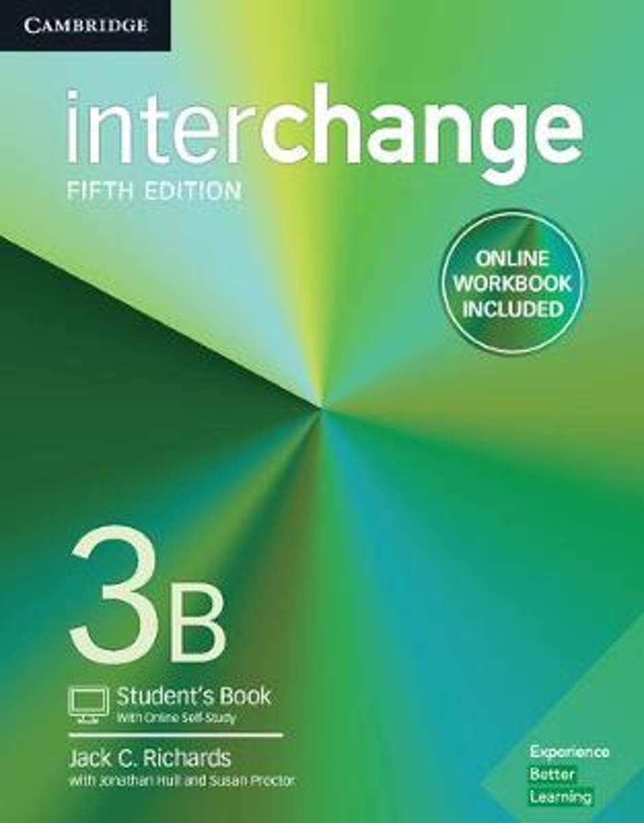 Interchange Level 3B Student's Book with Online Self-Study and Online Workbook
