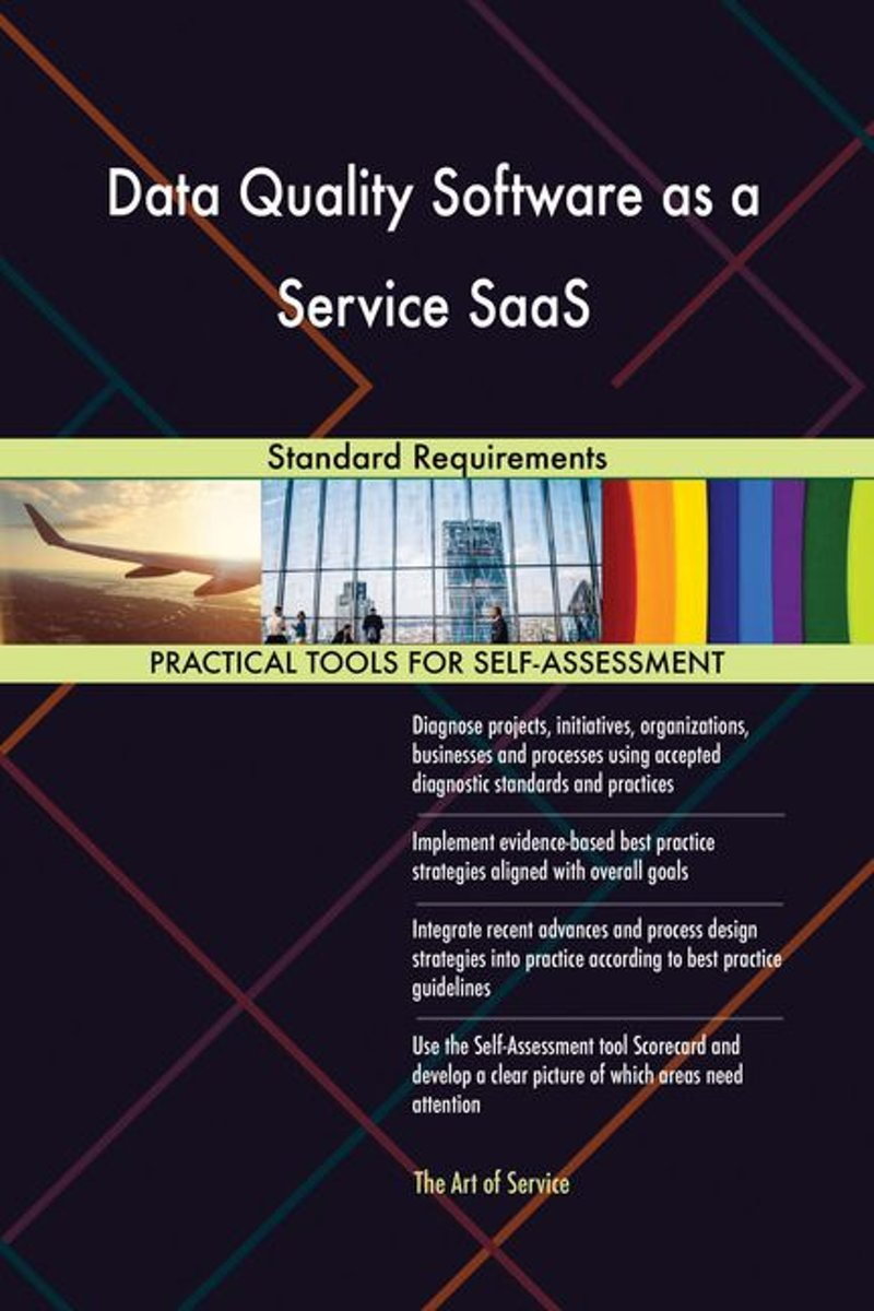Data Quality Software as a Service SaaS Standard Requirements