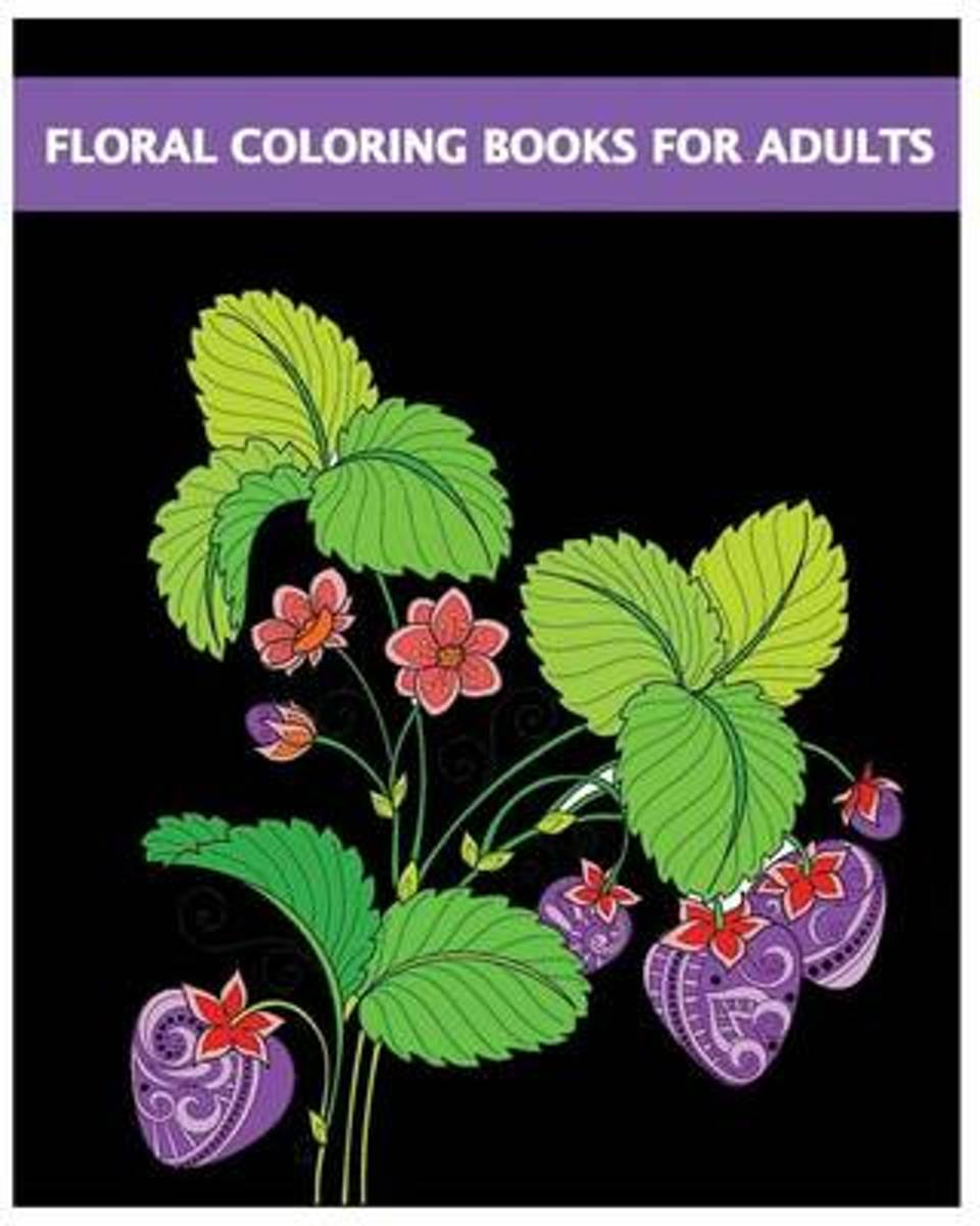 Floral Coloring Books for Adults
