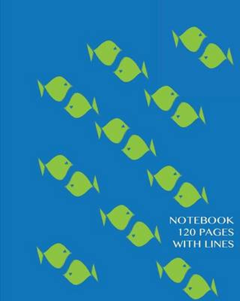 Notebook 120 Pages with Lines