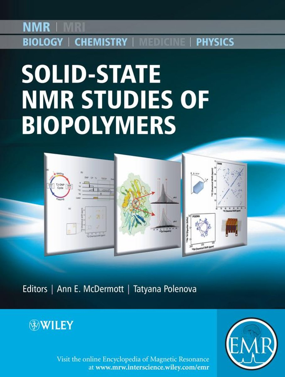 Solid State NMR Studies of Biopolymers