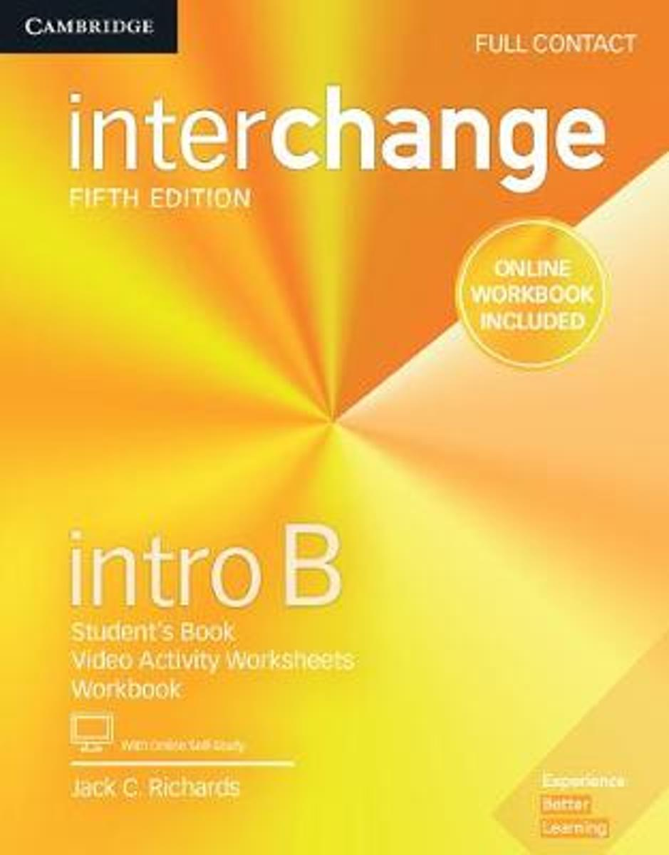 Interchange Intro B Full Contact with Online Self-Study and Online Workbook image