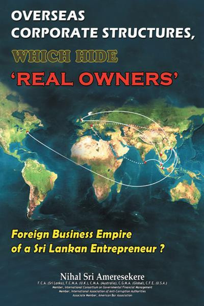 """Overseas Corporate Structures, Which Hide """"Real Owners'"""