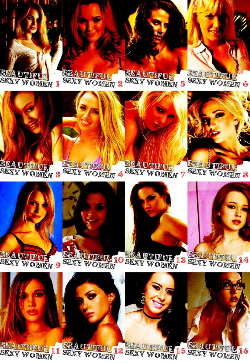 More Beautiful Sexy Women The Ultimate Collection – Volumes 1-16