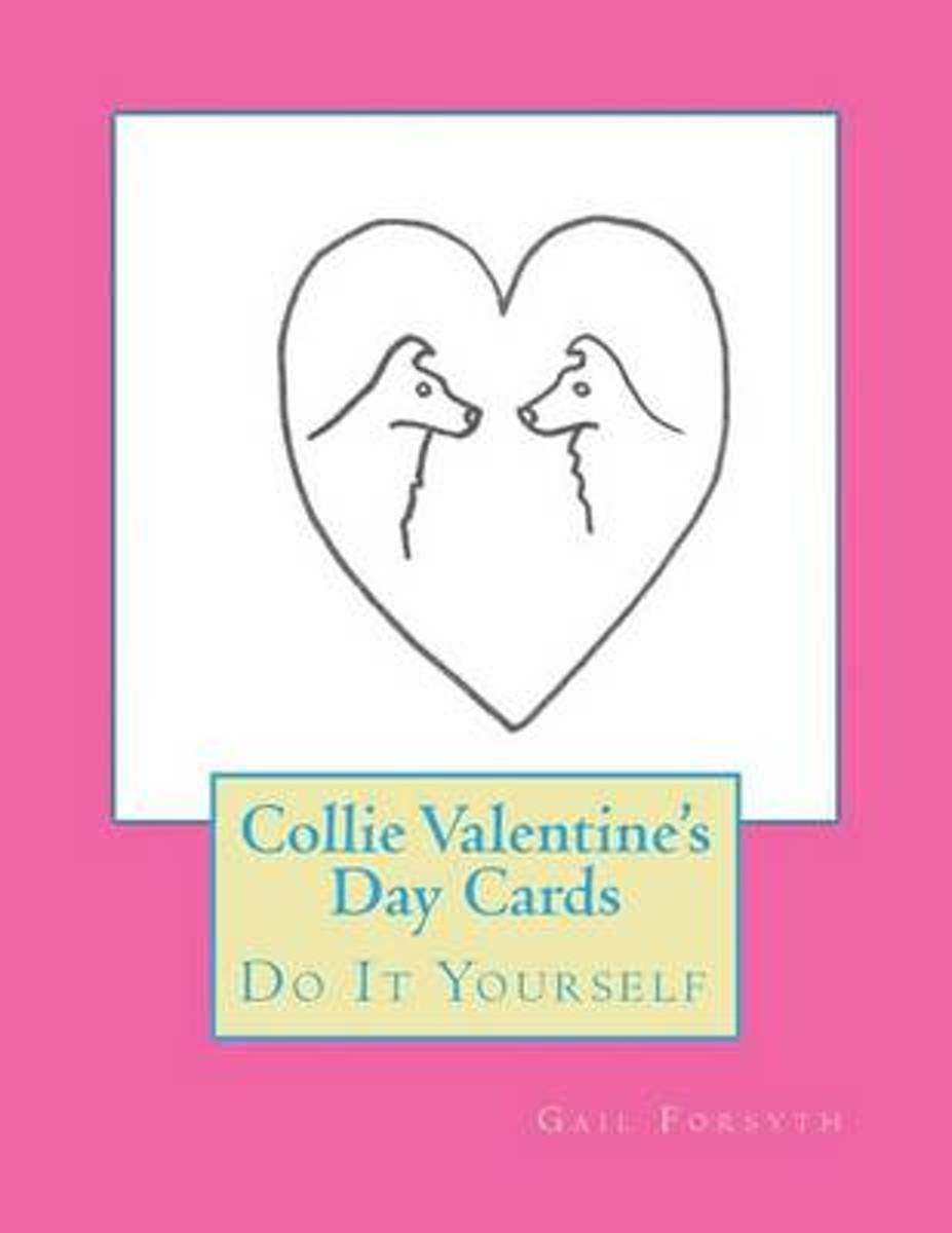 Collie Valentine's Day Cards