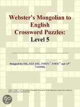 Webster's Mongolian to English Crossword Puzzles
