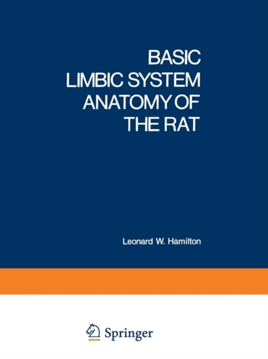 Basic Limbic System Anatomy of the Rat