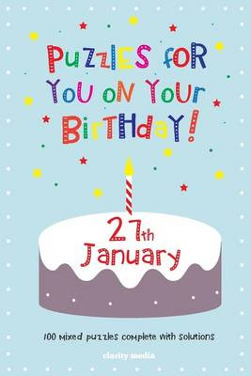 Puzzles for You on Your Birthday - 27th January