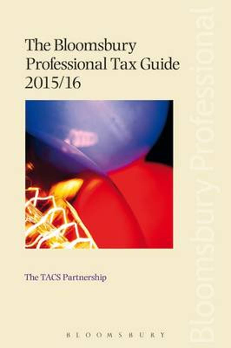 The Bloomsbury Professional Tax Guide