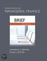 Principles Of Managerial Finance, Brief Plus Myfinancelab With Pearson Etext Student Access Code Card Package