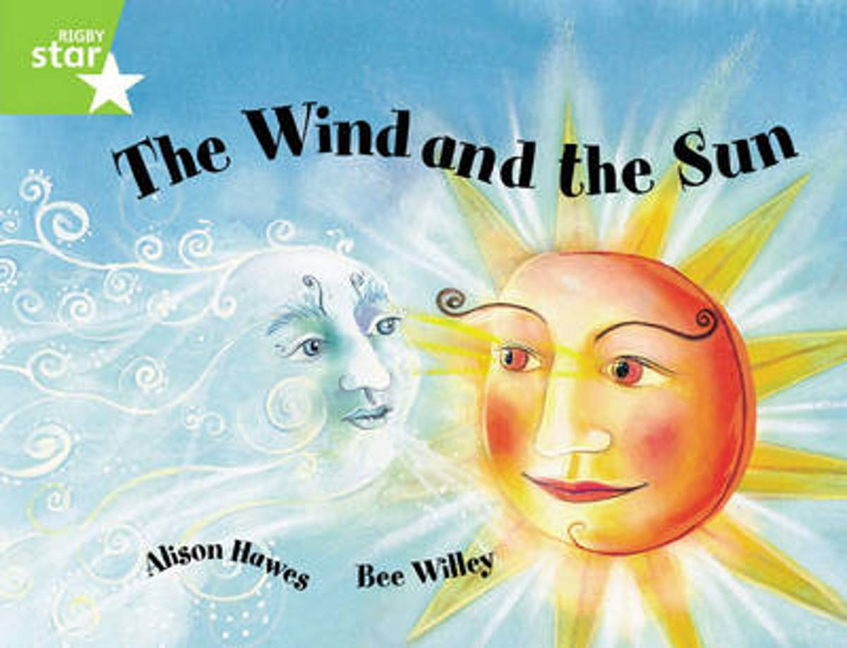 Rigby Star Guided 1Green Level: The Wind and the Sun Pupil Book (single)