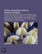 Rural municipalities in Saskatchewan