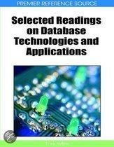 Selected Readings on Database Technologies and Applications