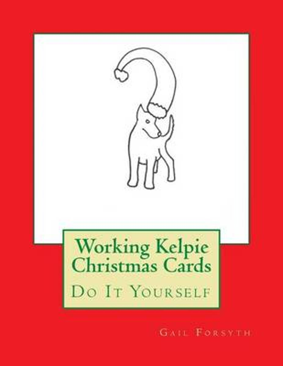 Working Kelpie Christmas Cards