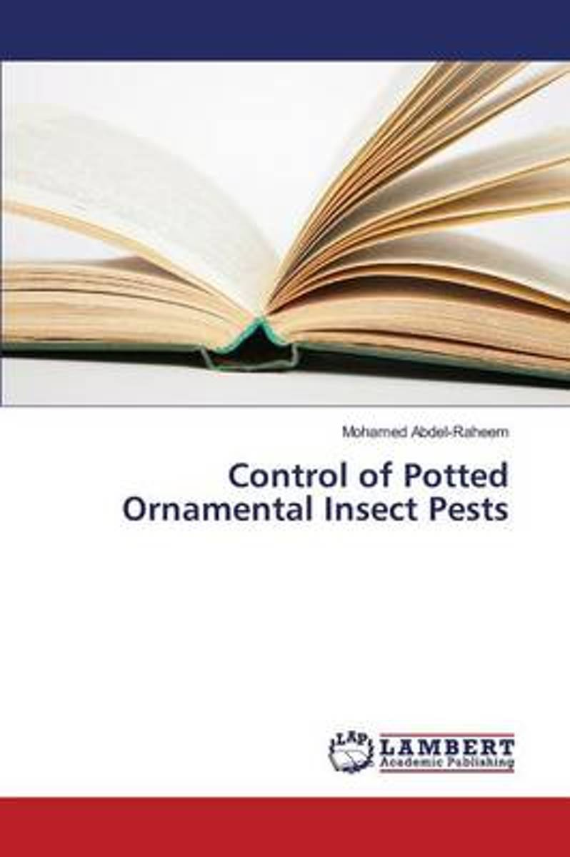 Control of Potted Ornamental Insect Pests