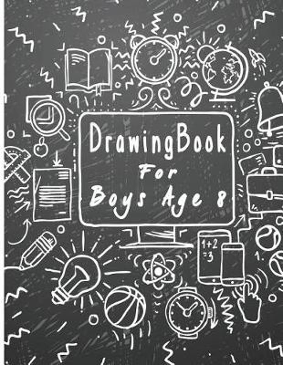 Drawing Book for Boys Age 8