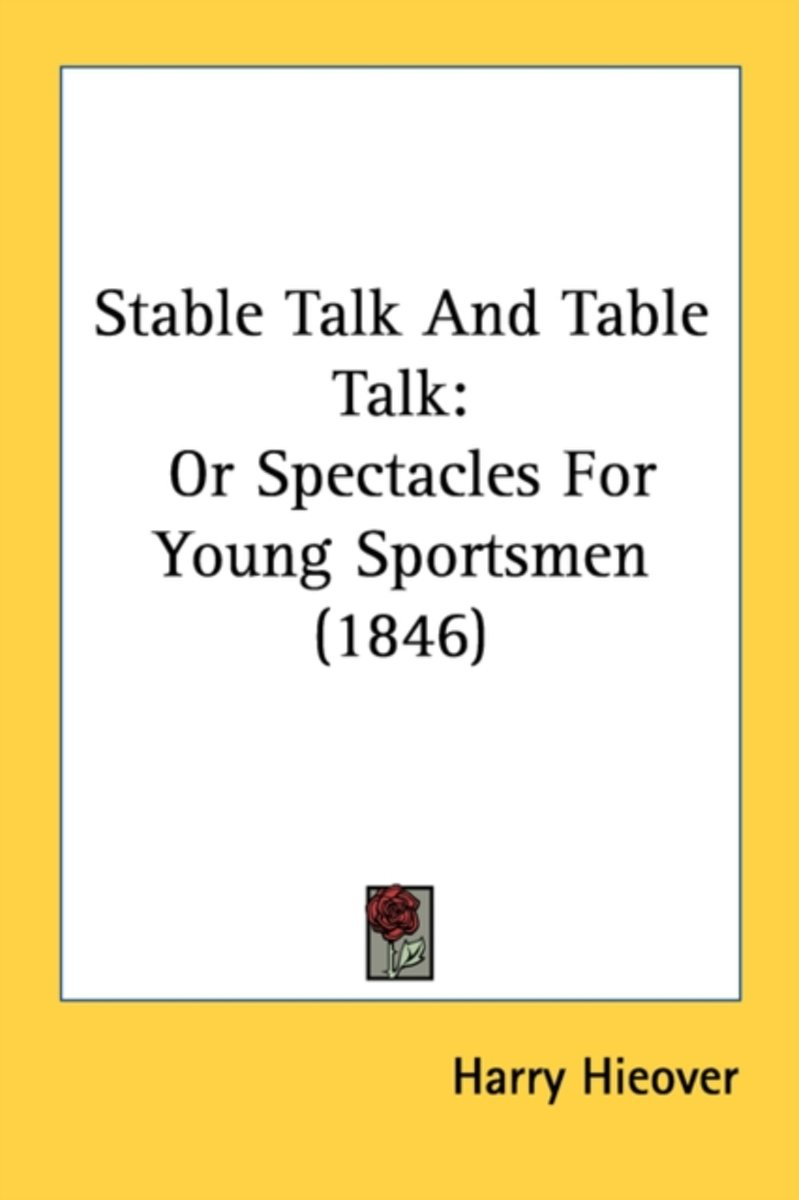 Stable Talk and Table Talk