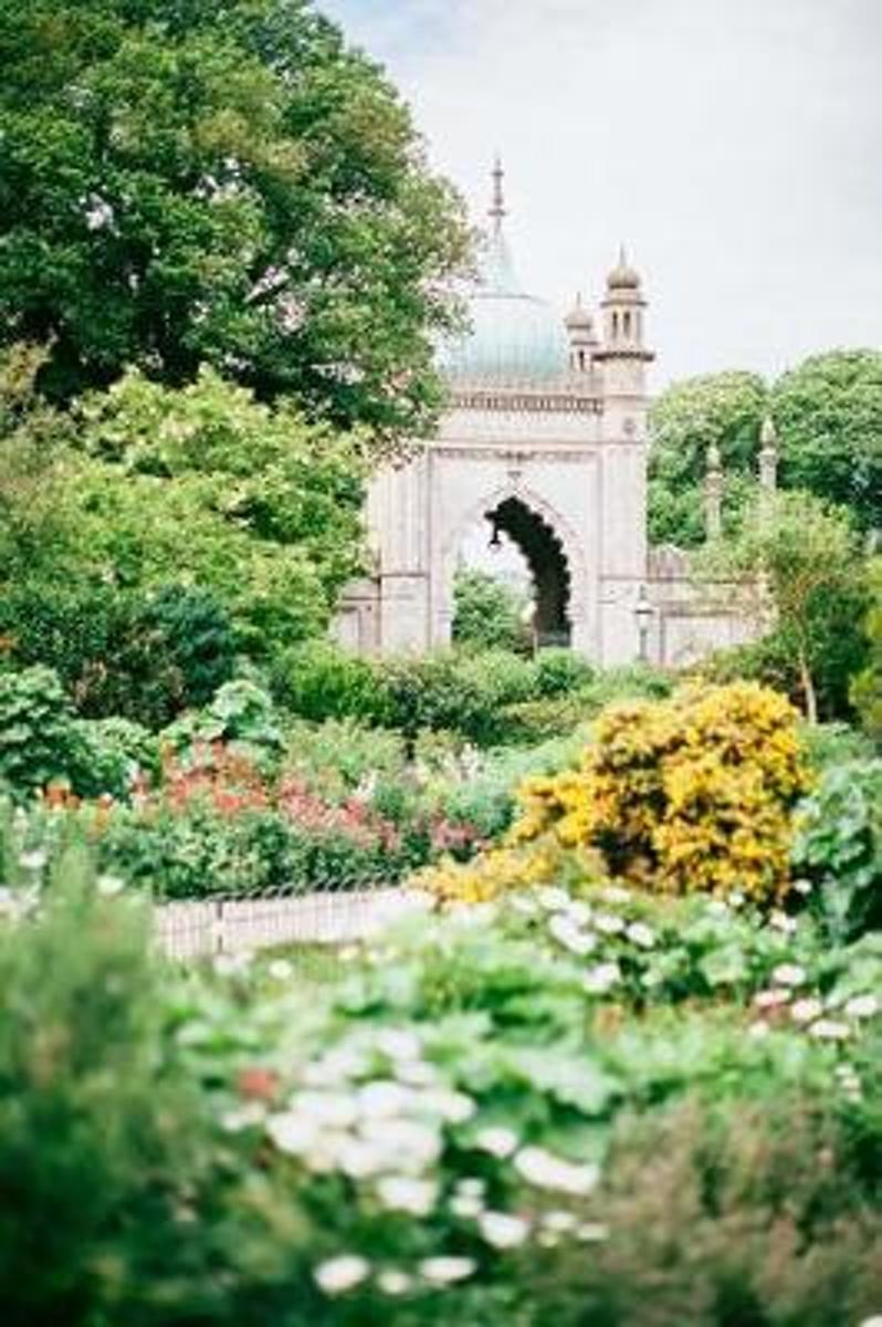 Beautiful Castle Garden on a Sunny Summer Day Journal