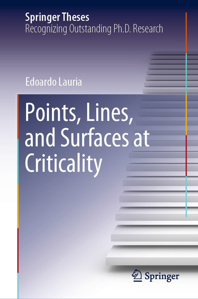 Points, Lines, and Surfaces at Criticality