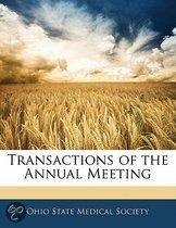 Transactions Of The Annual Meeting