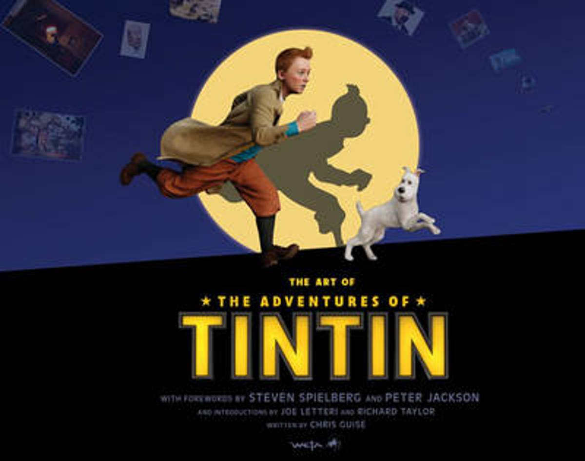 Art Of The Adventures Of Tintin