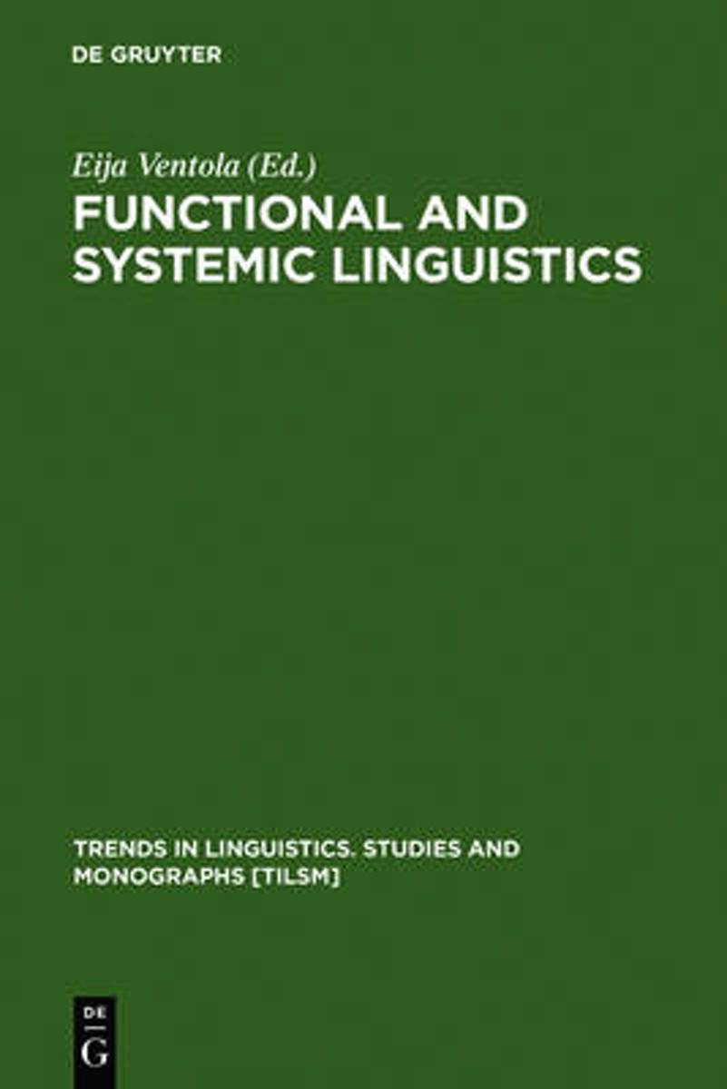 Functional and Systemic Linguistics