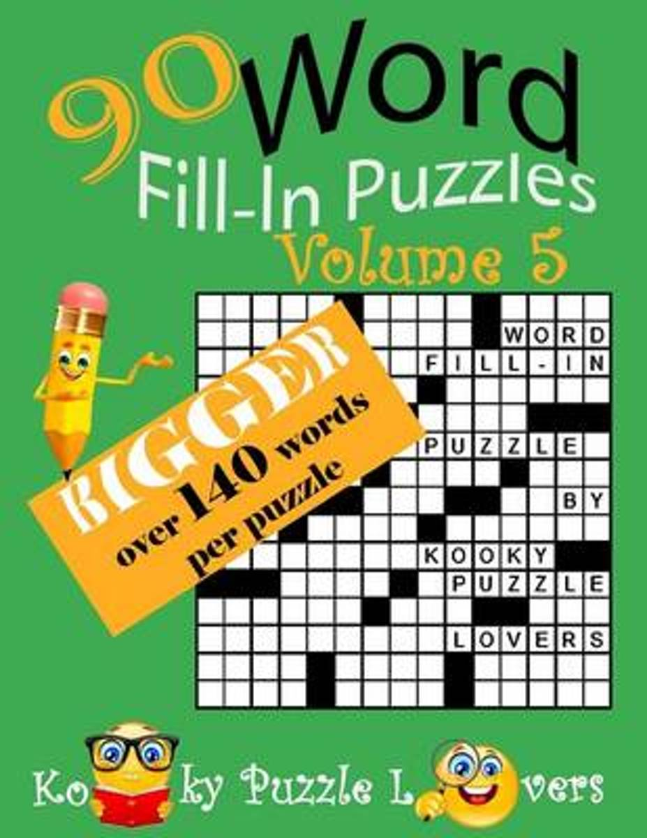 Word Fill-In, 90 Puzzles