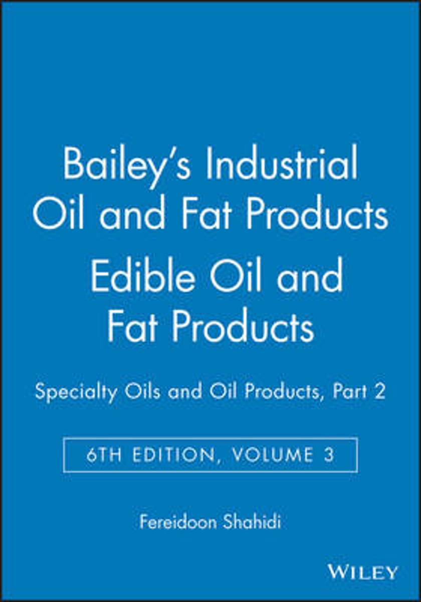 Bailey's Industrial Oil and Fat Products
