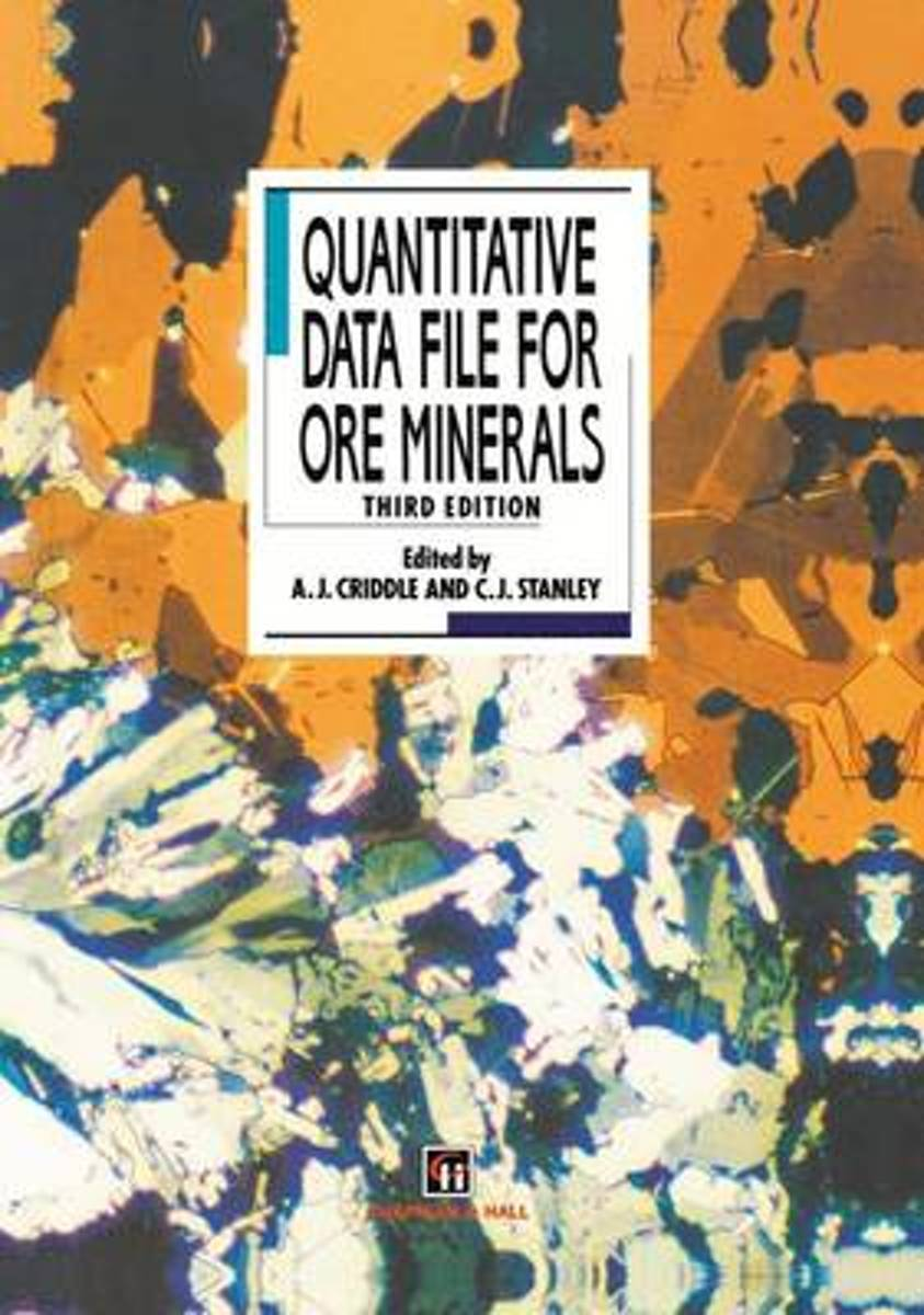 Quantitative Data File for Ore Minerals