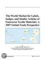 The World Market for Labels, Badges, and Similar Articles of Nonwoven Textile Materials