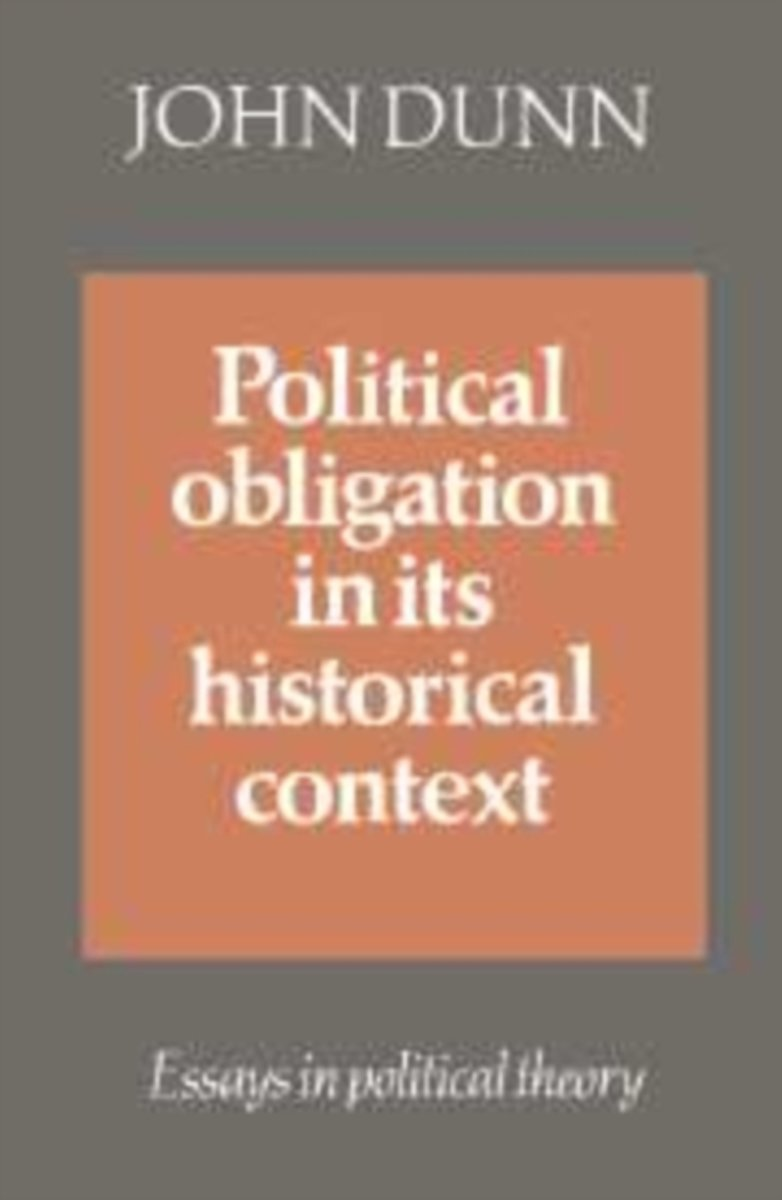 Political Obligation in Its Historical Context
