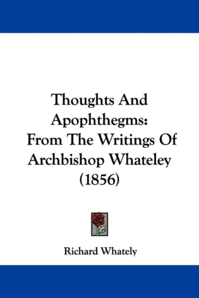 Thoughts and Apophthegms