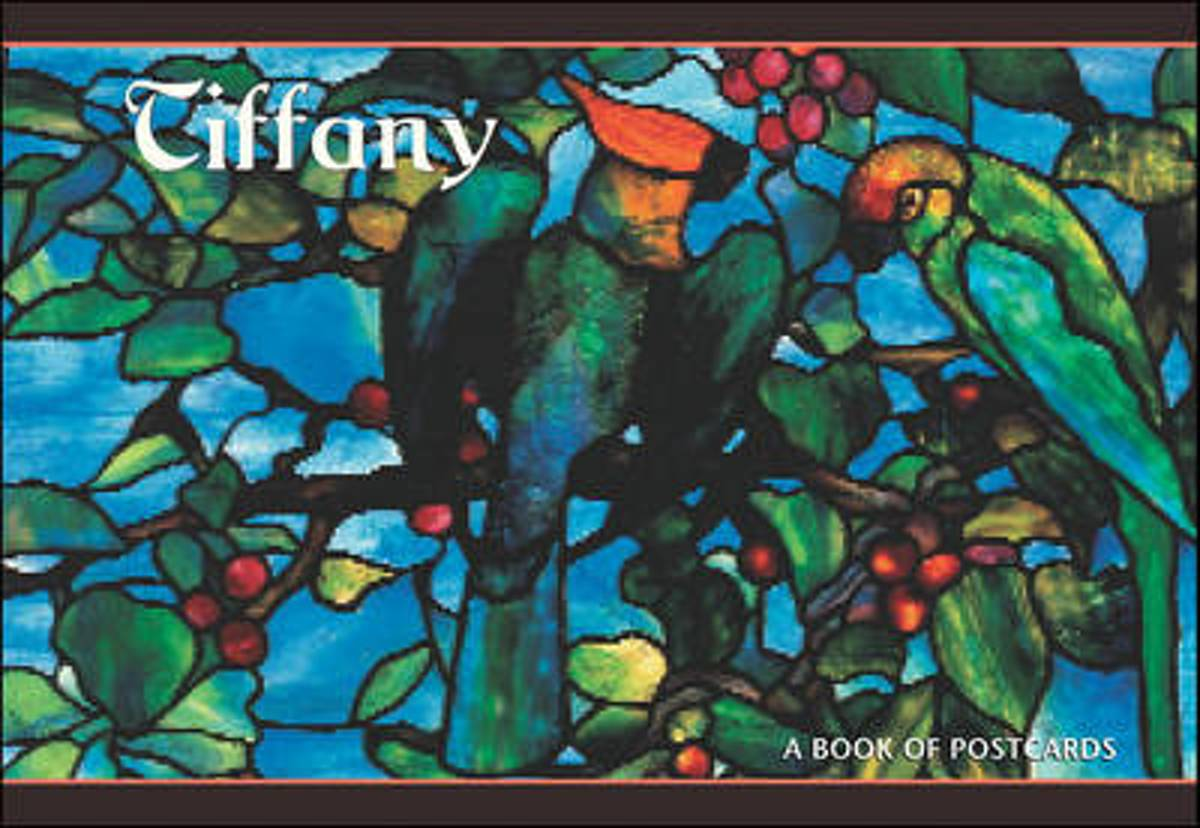 Tiffany Book of Postcards A944
