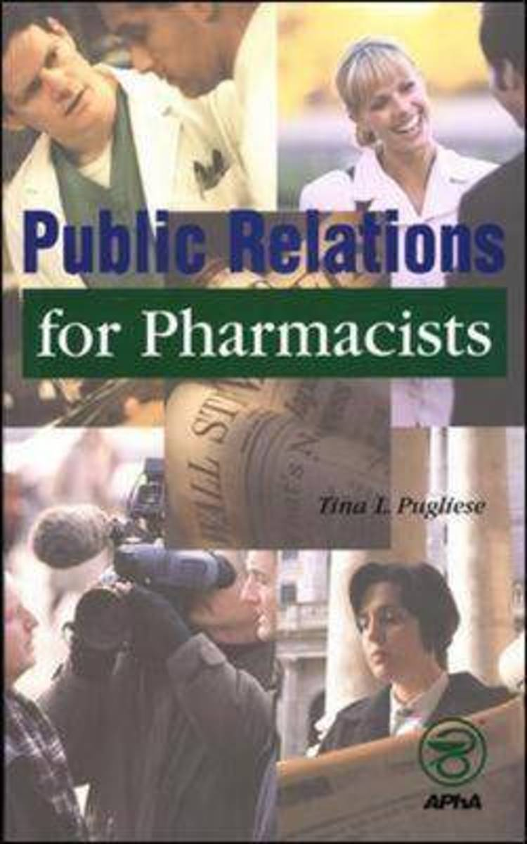 Public Relations for Pharmacists