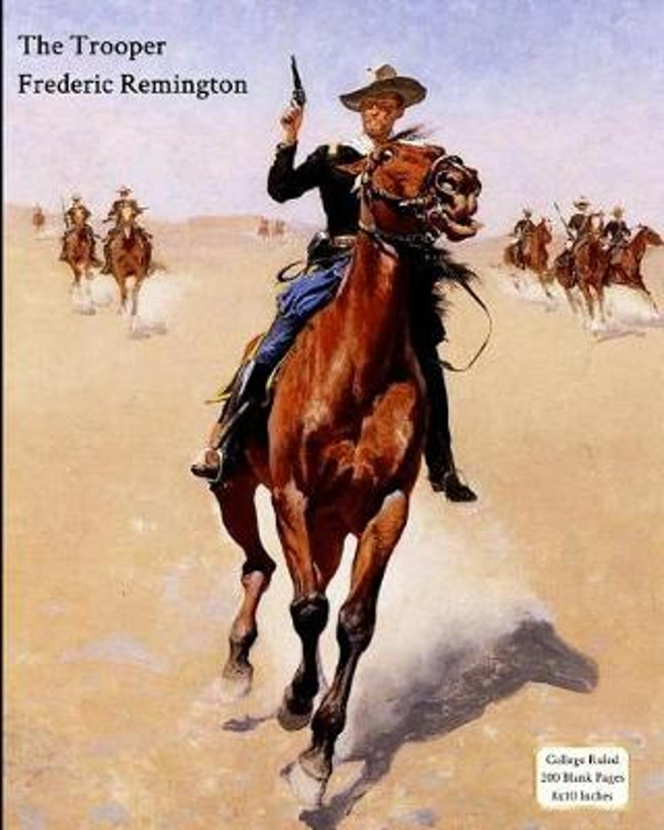 The Trooper - Frederic Remington - Notebook/Journal