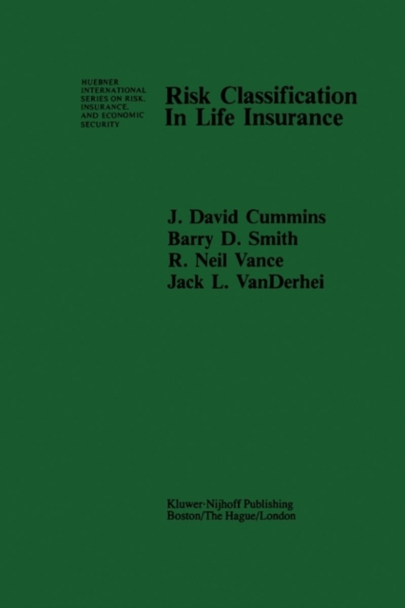 Risk Classification in Life Insurance