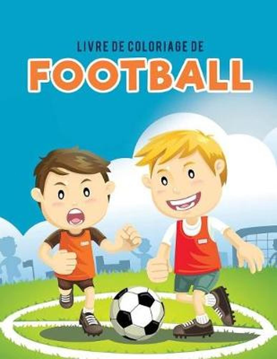 Livre de Coloriage de Football