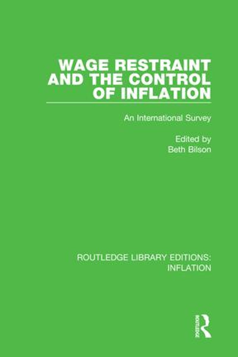 Wage Restraint and the Control of Inflation